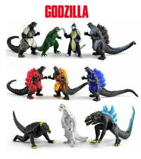 Godzilla 10 Piece Figures Cake Toppers Set Toy Lot Bundle