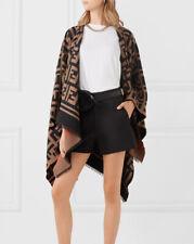 Occident Women fashion tassel Cloak Coat Jackets Blanket Kimono Shawl