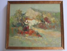 VINTAGE PAINTING FRENCH RUSSIAN IMPRESSIONISM EXPRESSIONISM COLORFUL LANDSCAPE