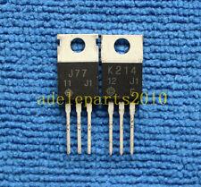 1pair 2SJ77/2SK214 J77/K214 Transistor HITACHI TO-220
