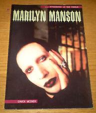 MARILYN MANSON Weiner Monografia musicale ill.ta b/n Ediz. LO VECCHIO 2001