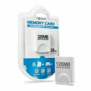 Hyperkin 128MB Memory Card 2035 Blocks For Nintendo Wii GameCube - Brand New