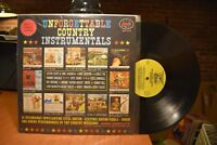 Flatt & Scruggs Emmons Unforgettable Country Instrumentals LP Starday SLP 277 MN