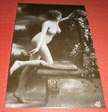 ITALIEN Repro Nachdruck No. 524 Akt Nackt Nude Erotik Sexy Lady (2 Foto)(6624AK)