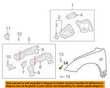 TOYOTA OEM 02-05 Celica Fender-Plug 9095001949