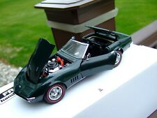 Danbury Mint 1/24th Scale 1968 Corvette Convertible-PAPERS & BOX-VERY VERY NICE-