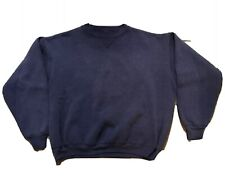 Vtg Faded Single V Crewneck Sweatshirts Blue Mens XL