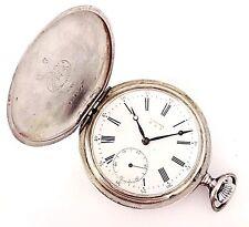 Vintage Longines Fine Size 12 Grand Prix Paris Hunter Case Key Wind Pocket Watch