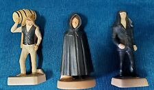 Trio of Acores Azores Figurines in  - traditional black hoods and garb. Ex Cond