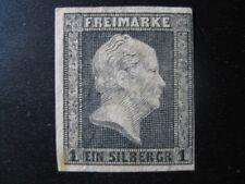 PRUSSIA PREUSSEN GERMAN STATES Mi. #2 scarce mint stamp (official reprint)!