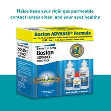 Bausch + Lomb Boston ADVANCE Formula Solution Contact Lenses 9 Ounces Multi-Pack