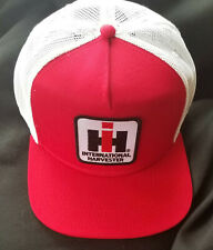IH Farmall High Crown Hat Tradional Farmers Cap K Brand Style