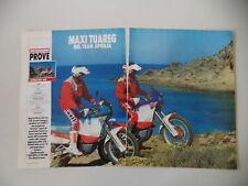 - PROVA MOTOCICLISMO 1988 MOTO APRILIA TUAREG WIND 350 e 600