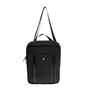 "RRP €110 VICTORINOX Crossbody Bag Fits Slim 13"" Laptop Sleeve Multi Pockets"