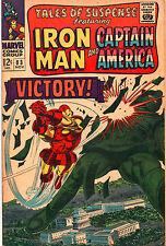 Tales Of Suspense #83 - Iron Man Vs Titanium Man - 1966 (Grade 6.0)