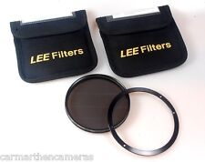 LEE FILTERS CIRCULAR POLARIZER 105MM AND 105MM FRONT RING