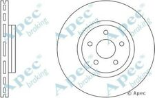 1x OE Quality Replacement Front Axle Apec Vented Brake Disc 5 Stud 320mm - Pair