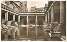 real photo; Bath; roman baths