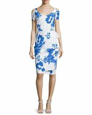 NWT La Petite Robe di Chiara Boni Julia Cold-Shoulder Cocktail Dress 10 $940