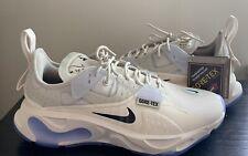 Nike React-Type GTX Gore Tex Phantom Black Light Bone Mens Shoes - Size 8