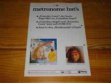METRONOME - MASQUERADE, FRANCESCO NAPOLI  / PROMO-FACTS (DIN-A-4) 1983