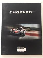 Watch catalog / Catalogue montres CHOPARD PORSCHE 2017 52 pages 18 cm  x 23 m