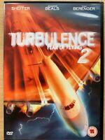 Turbolenza 2 Fear Of Aviatore DVD 2000 Plane Hijack Thriller W/ Tom Berenger
