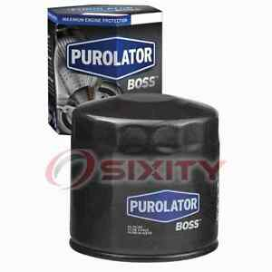 Purolator BOSS Engine Oil Filter for 1991-2000 Plymouth Voyager Oil Change qo
