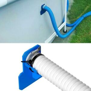 Swimming Pool Bracket Pipe Holder Water Hose Supports For 30mm-38mm Pipe