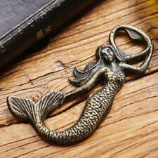 3D Mermaid bottle opener,vintage style mermaid bottle opener
