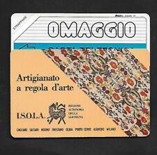SCHEDE TELEFONICHE SIP☎SERIE OMAGGIO 98/3189☎RARA OMAGGIO ARTIGIANATO REG D'ARTE