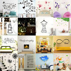 Home Room Decor Art Vinyl Motto Wall Decal Stickers Bedroom Removable Mural DIY