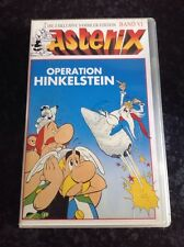 VHS Asterix Operation Hinkelstein Video