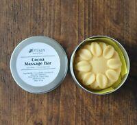 Body Lotion Bar Natural Massage Bar Solid Lotion Handmade Cocoa Coconut Beeswax