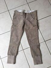 Pantalon GUESS taille 12/14 Ans velours beige très bon état