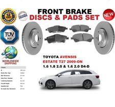 Für Toyota Avensis T27 Kombi 2008-on 295mm Vorne Bremsscheiben Set +Bremsbeläge