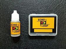 10X MEAZZI ECHOMATIC Echo tape loops - LONG loop + Tape Head Cleaner
