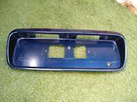 96-00 Honda Civic  OEM Rear Trunk License Plate Filler Panel EDM