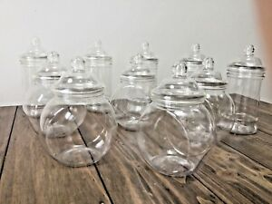10 Mixed Sweet Jars Candy Buffet Sweet Table Wedding Baby Shower Birthdays/Party