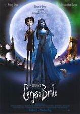 TIM BURTON'S CORPSE BRIDE Movie POSTER 11x17 N Johnny Depp Helena Bonham Carter