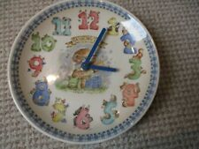 Wedgwood Rambling Ted clock / childrens nursery clock