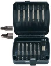 Kit extracteur têtes de vis endommagées abîmées goujons + embouts acier traité