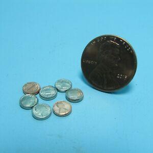 Dollhouse Miniature Replica Coin / Change Set Penny Nickel Dime MUL4238