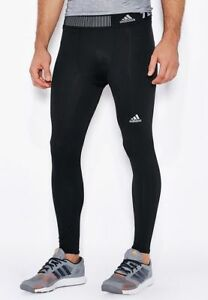 adidas Men's Training/Fitness/Gym/Yoga/Tech fit Compression Tights, Size: XXL