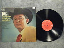 33 RPM LP Record Ray Price Another Bridge To Burn Columbia Records CL 2528 VG+