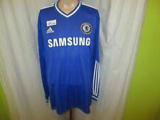 "FC Chelsea London Adidas Langarm Heim Trikot 2013/14 ""SAMSUNG"" Gr.XXL TOP"