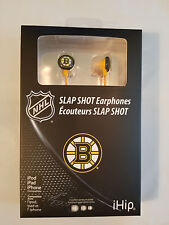 Boston Bruins Premium Audio Earphones Ear Buds Bud iHip USA SHIPPER