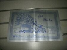 time out camper,SILVER SHADOW,cycle camp trailer,elkhart indiana,brochure