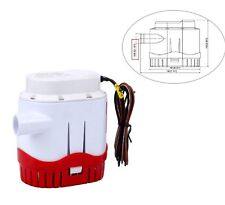Automatic Submersible Boat Bilge Pump 12v 2000gph With Built-in Float Switch