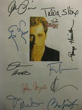 The Godfather Part Iii Signed Film Script Al Pacino Diane Keaton Andy Garcia rpt